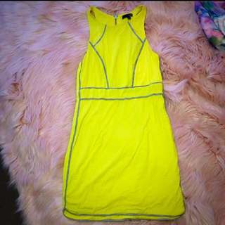 Ladakh Size S Yellow Dress