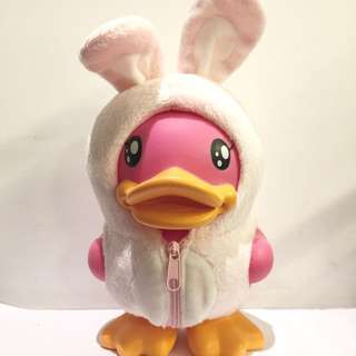 (hold)easter bunny bduck piggy bank
