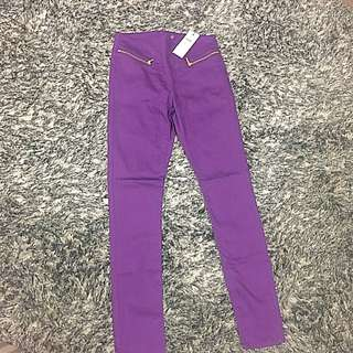 BNWT Purple Vero Moda Pants Size 10