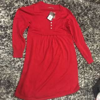 BNWT Angel Maternity Knit Dress Size M