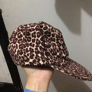American Apparel Leopard Print Cap