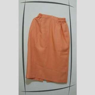 Vintage orange Skirt