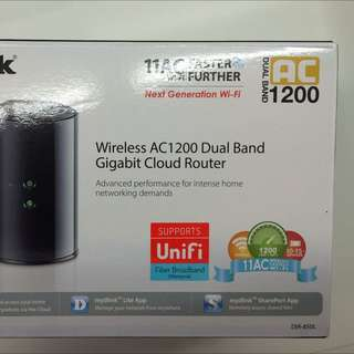 Dlink Smart Beam AC1200 Wireless Router Dual Band