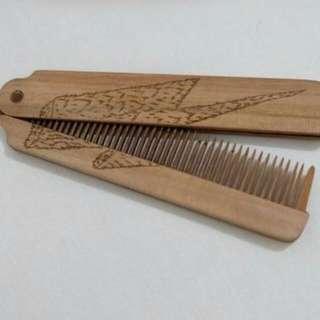 Wooden Major Comb (NEGO)