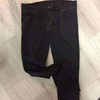 Ksubi Skinny Black Jeans