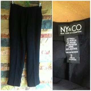 NY&CO Black Formal Slacs