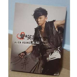 "Alien Huang ""Love Hero"" 黄鸿升《愛&英雄》Album with Signature"