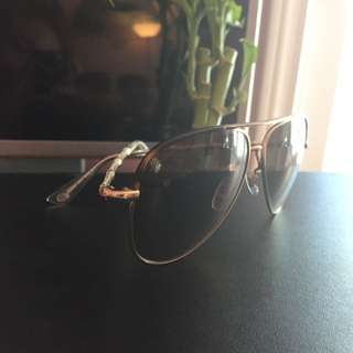 Authentic Gold Gucci Sunglasses