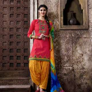 Patiala Suits-fully Stitched