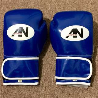 New Hand-Made Boxing Gloves Blue