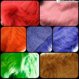 Karpet Bulu Korea (aneka Warna)