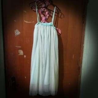 Skirt / Dress Tile Green 2in1 (NO BRAND)