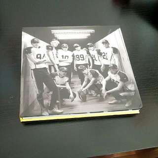 EXO Love Me Right Album Korean Version Repackaged With Poster