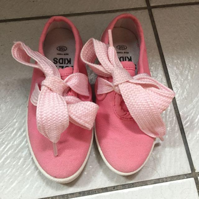 9成新韓版女童鞋