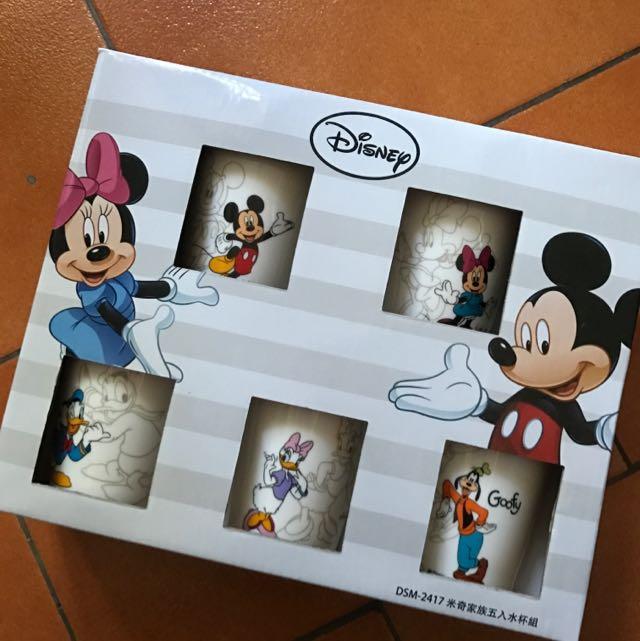 迪士尼正版玻璃杯