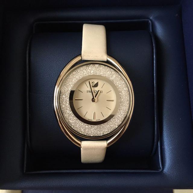 施華洛世奇水晶手錶