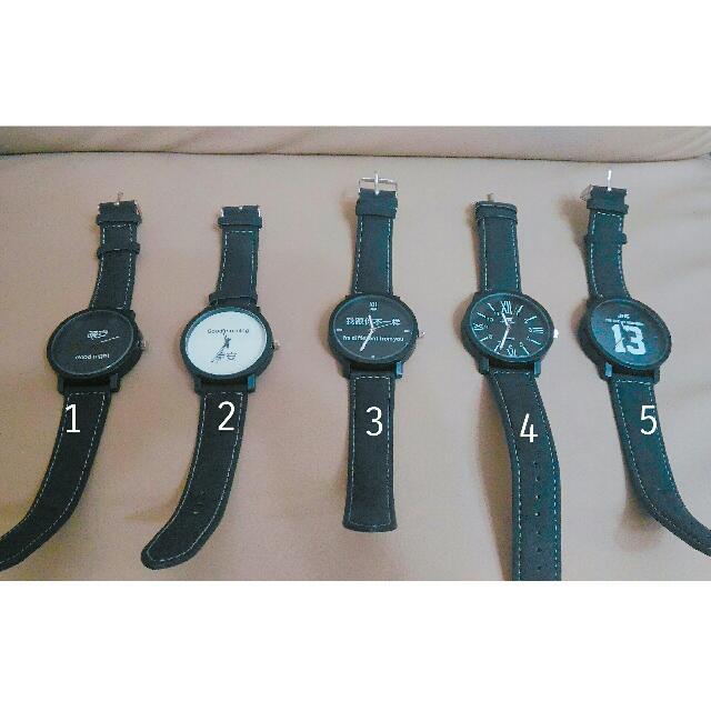 (現貨) 情侶造型手錶