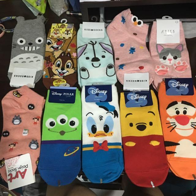 襪子 韓國 五雙折10 十雙折30