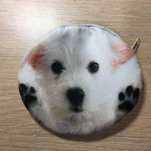 可愛小狗 狗狗 小包 鑰匙包
