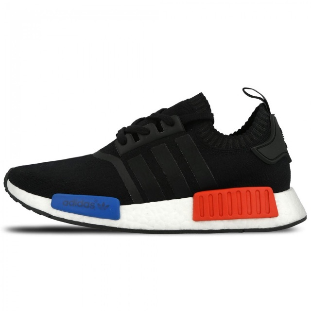 ADIDAS NMD RUNNER PRIMEKNIT 'CORE BLACK/LUSH RED'