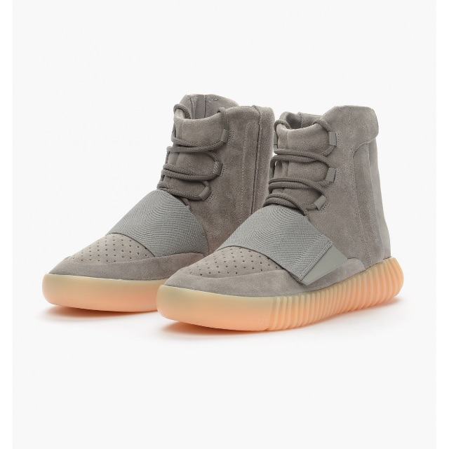 ADIDAS ORIGINALS YEEZY 750 BOOST 'LIGHT GREY/GUM'