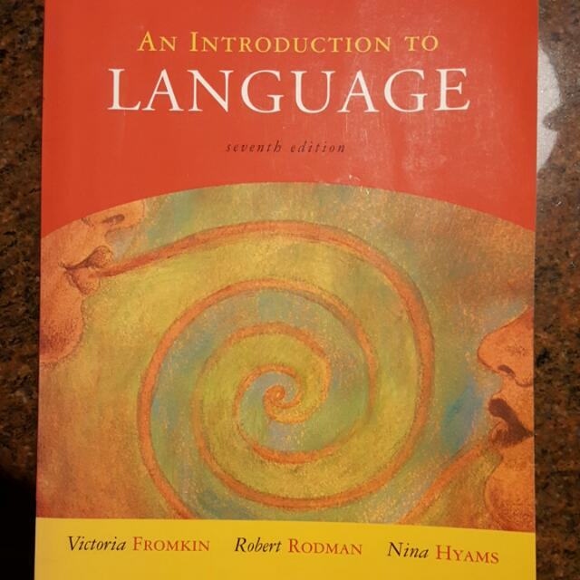 An introduction to language seventh edition by victoria fromkin photo photo photo photo photo fandeluxe Choice Image