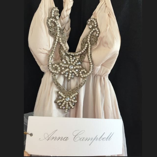 Anna Campbell Evening Gown Size 6-10