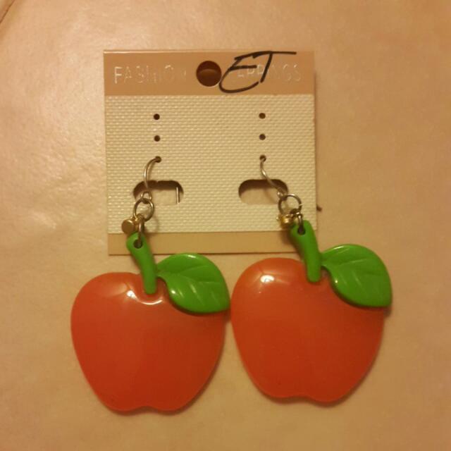 Apple Earings