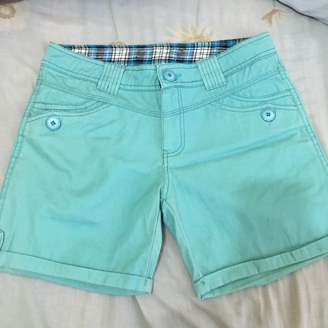 Aqua Blue Preloved Shorts