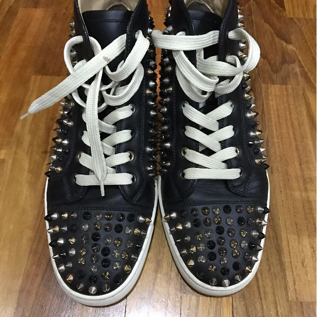 6ae2b33a45a FURTHER DISCOUNT!! $850!! Authentic Christian Louboutin Spikes Louis Shoes  41 Sneakers