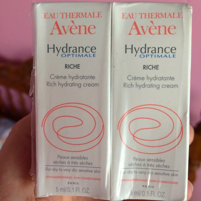 Avène Hydrance Optimale Rich Hydrating Cream (Php 100/tube)