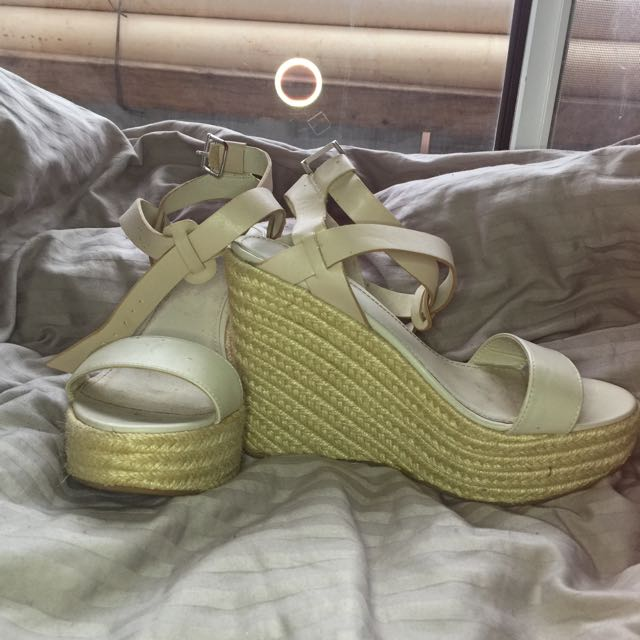REDUCED Betts Nude Wedges