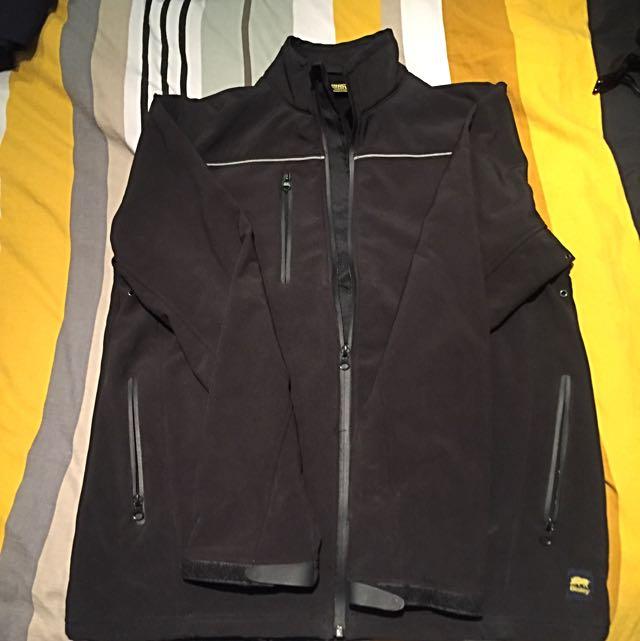 Black Bisley Waterproof Jacket