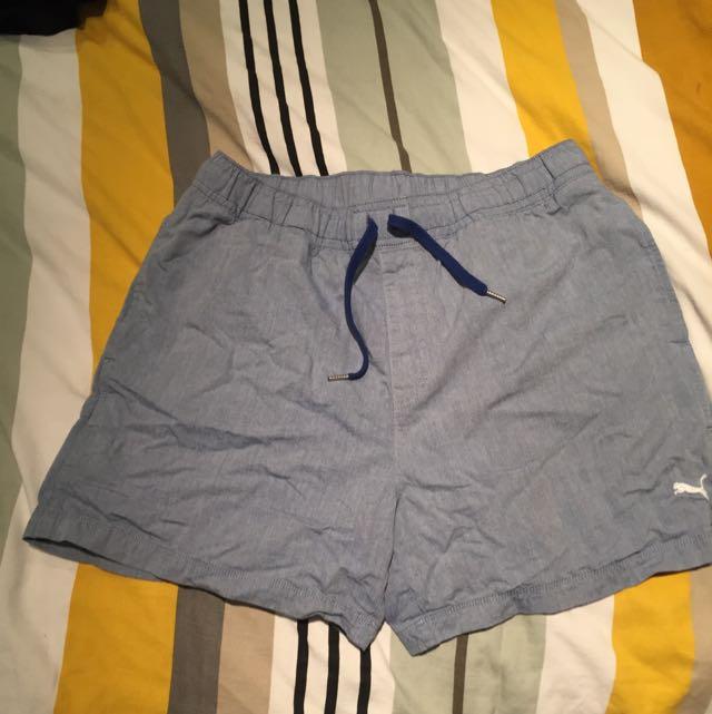 Blue Puma Swimming Shorts