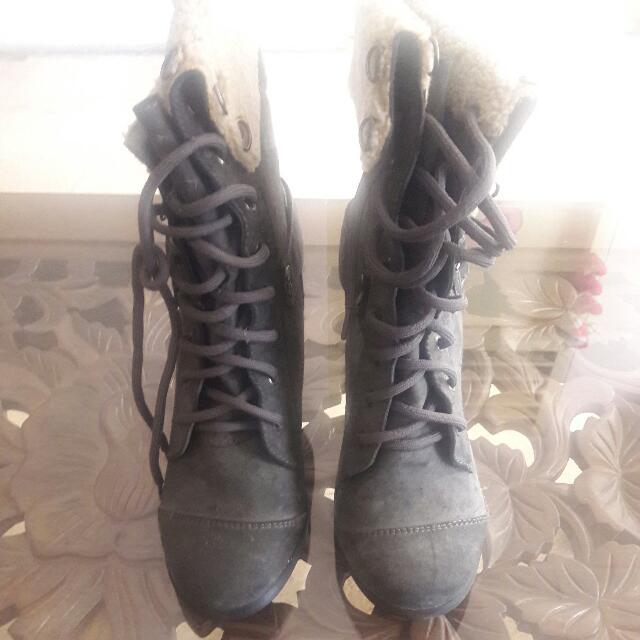 Boots Kulit Dr Paris Size 38