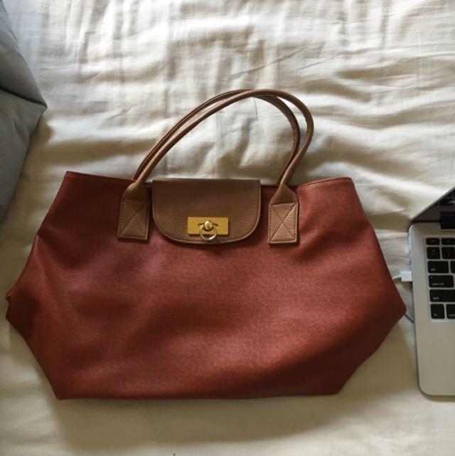 Brownish Red Bag