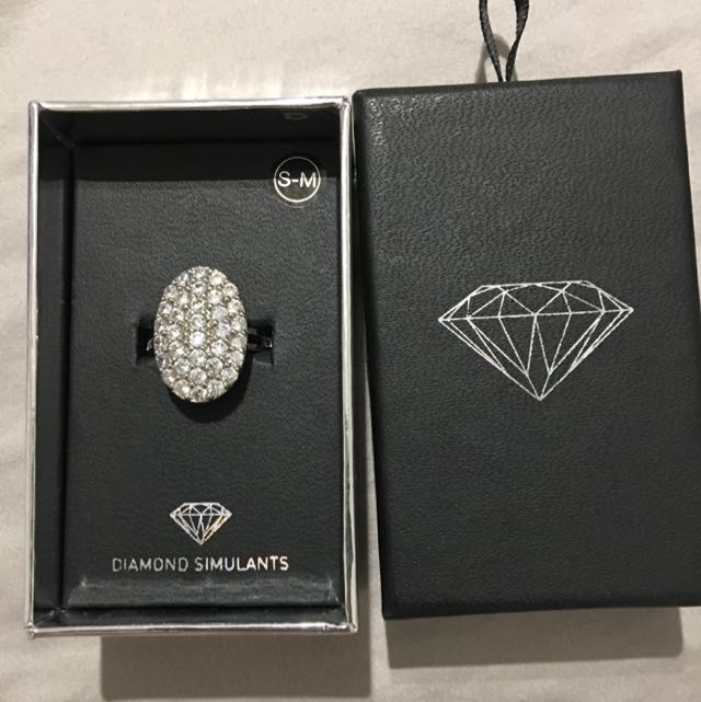 BWIB Lovisa Diamonds Stimulant Ring