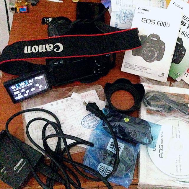 Canon入門600D相機組