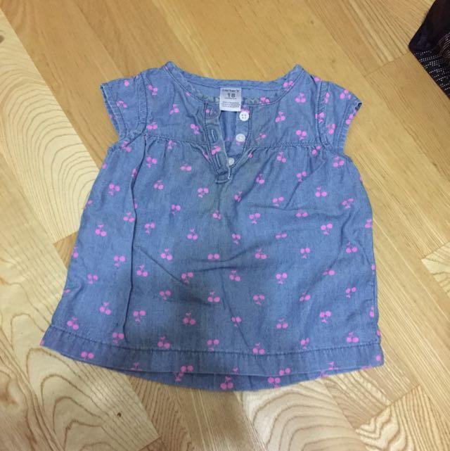 Carter's女寶寶上衣