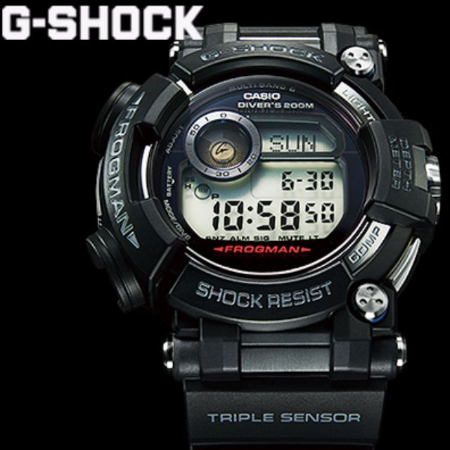 a45e0800608 Casio G-Shock Master Of G Frogman GWF-D1000-1 GWF-D1000 GWFD1000 ...