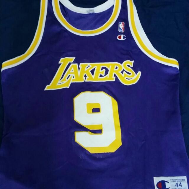 15e39a53a Champion LA Lakers Nick Van Exel Size 44