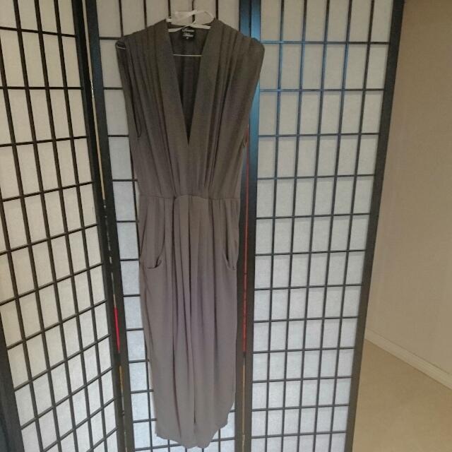 Classy Full Length Dress - Size 10