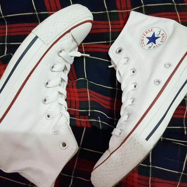Converse Chuck Taylor Hi Optic White Size 5.5