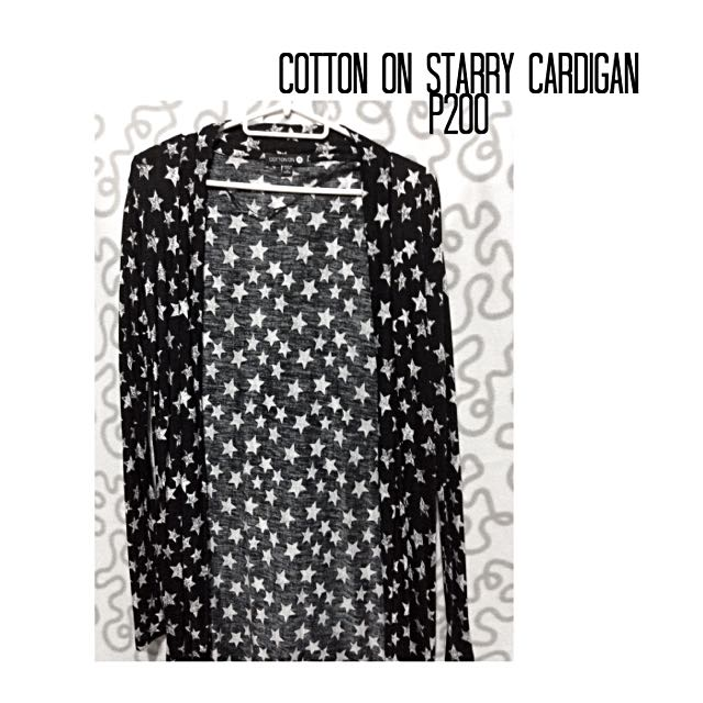 Cotton on Starry Cardigan