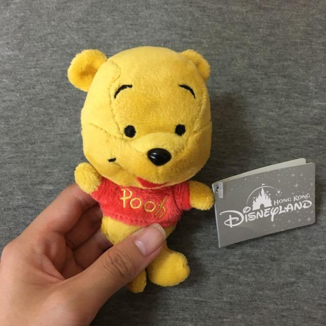 Disney迪士尼 維尼熊玩偶 全新商品 香港購入