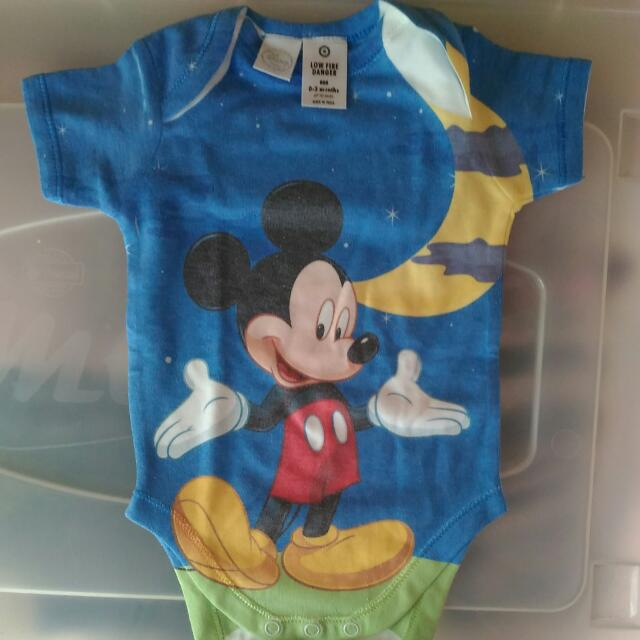 Disney Onesie (Mickey Mouse)