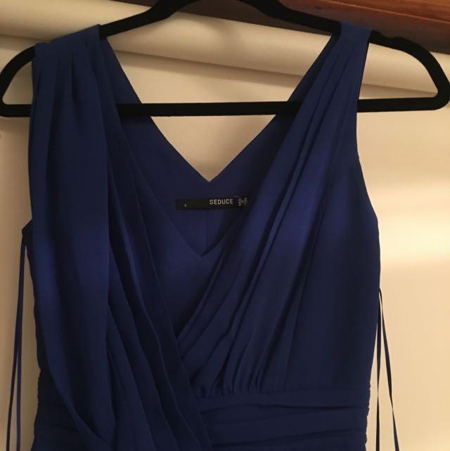 GORGEOUS BLUE SEDUCE DRESS