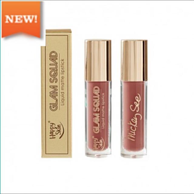 Happy Skin Glam Squad Liquid Matte Lipstick By Mickey See