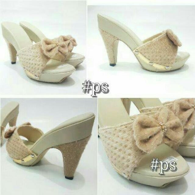 High Heels Pita Brukat AY03