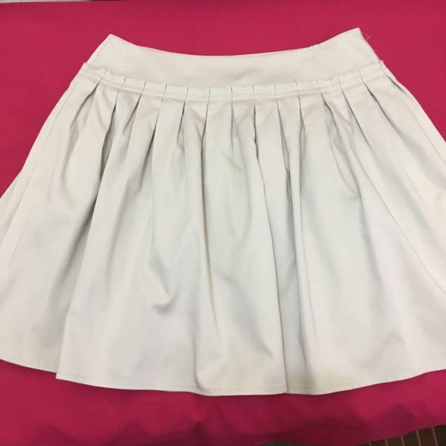 High Waist, Knee-length Skirt